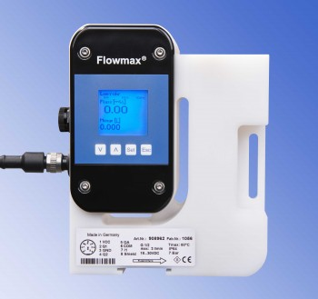 Flowmax - berührungsfreie Ultraschall-Durchflussmessung